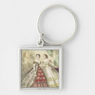 Vintage 1860s Women V2 Keychain