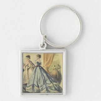 Vintage 1860s Women V3 Keychain