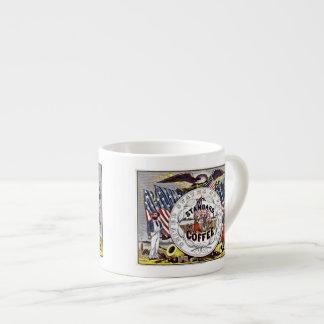 Vintage 1862 American civil war coffee Espresso Cup