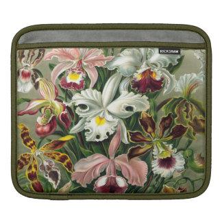 Vintage 1865 Botanical Orchids Illustration iPad Sleeve