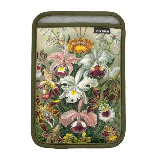 Vintage 1865 Botanical Orchids Illustration Sleeve For iPad Mini