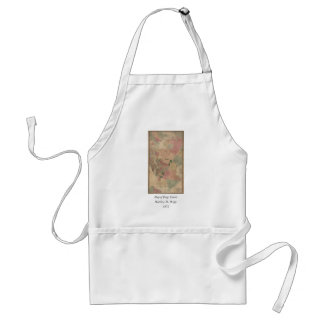 Vintage 1872 Brooklyn Map - New York City, Queens Adult Apron