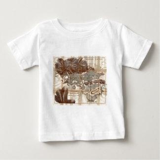 Vintage 1879 Lower Saranac Lake Reconnaissance Map Baby T-Shirt