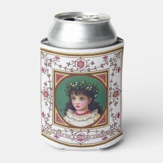 Vintage 1880s Kate Greenaway Christmas Can Cooler