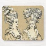 Vintage 1880s Paris France Esque Ladies Mousepad T
