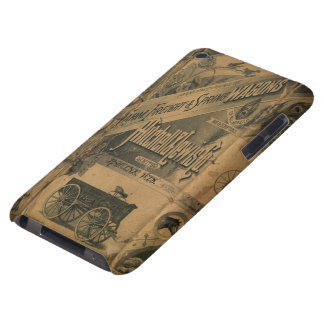 Vintage 1885 Collage Ads Case-Mate iPod Touch