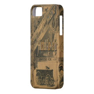 Vintage 1885 Collage Ads iphone 5 cover