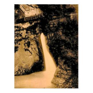 Vintage, 1890, Trummelbach Falls, Lauterbrunnen Postcards