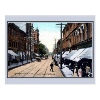 Vintage 1890s Barrington Street Halifax NS Postcard
