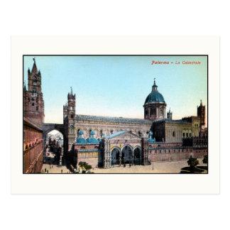 Vintage 1890s Palermo Sicily Cathedral Postcard
