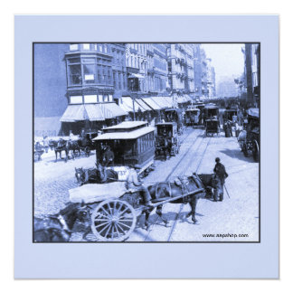 Vintage 1892 New York City Broadway Card
