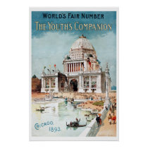 Vintage 1893 Chicago World's fair expo