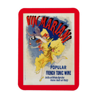 Vintage 1894 French tonic wine advert by Cheret Magnet