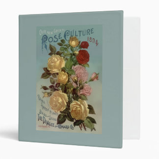Vintage 1894 Guide to Rose Culture Binders