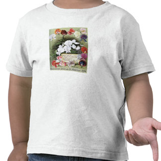 Vintage 1894 Henderson Assorted Seed Packet Shirts