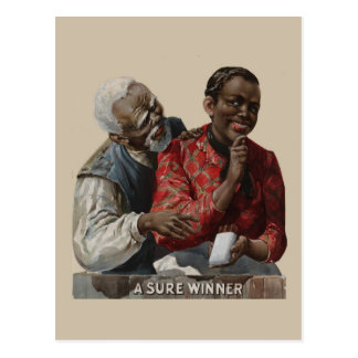 Vintage 1895 Cigar Ad African American Post Cards