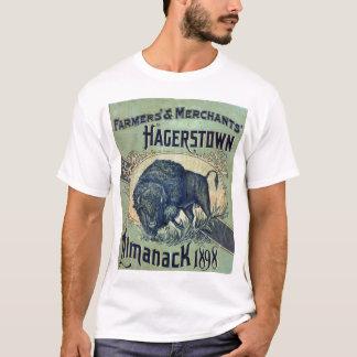 Vintage 1898 Buffalo Almanack Shirt