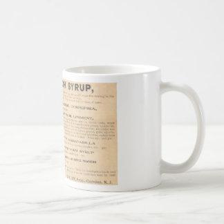 Vintage 1898 Camden Cough Syrup Mug