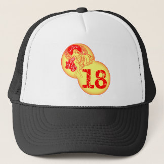 Vintage 18th Birthday Gifts Trucker Hat