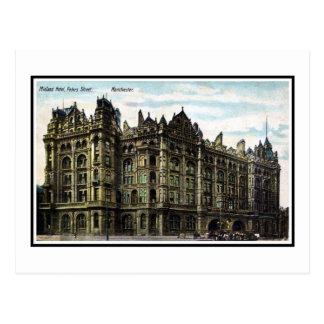 Vintage 1903 Edwardian Midland Hotel Manchester Post Card