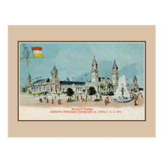 Vintage 1904 Louisiana purchase expo litho Postcard