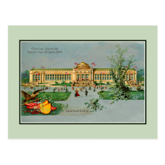 Vintage  1904 Official Souvenir St. Louis fair Postcard