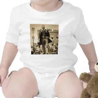 Vintage 1905 de la tarjeta de Teddy Roosevelt Ster Trajes De Bebé