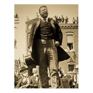 Vintage 1905 de la tarjeta de Teddy Roosevelt Ster Tarjetas Postales