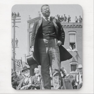 Vintage 1905 de la tarjeta de Teddy Roosevelt Tapetes De Raton