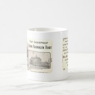 Vintage 1907 New Jersey Governors Campaign Mug