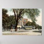 Vintage 1908 de Montclair NJ Impresiones