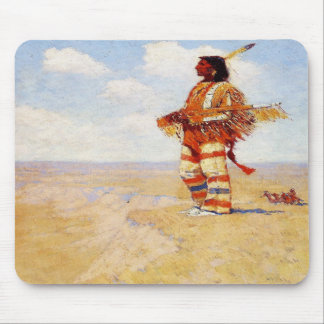 Vintage 1908 The Last of His Race Mouse Pad