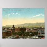 Vintage 1909 de El Paso, Tejas Poster