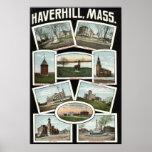 Vintage 1910 de Haverhill Massachusetts de los sal Impresiones