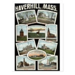 Vintage 1910 de Haverhill Massachusetts de los sal Postales