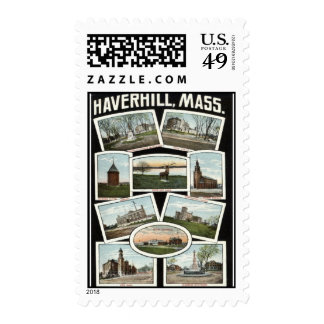 Vintage 1910 de Haverhill Massachusetts de los Envio