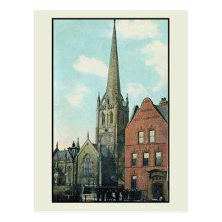 Vintage 1910 Parish Church Goole Postcard