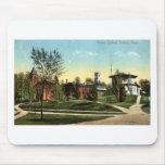 Vintage 1912 de Repro de la universidad de Amherst Alfombrillas De Raton
