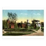 Vintage 1912 del mA de la universidad de Amherst Postal