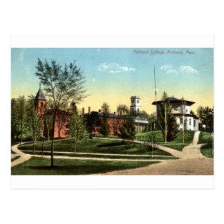Vintage 1912 del mA de la universidad de Amherst Tarjetas Postales