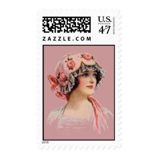 Vintage 1913 Hat #2 Postage