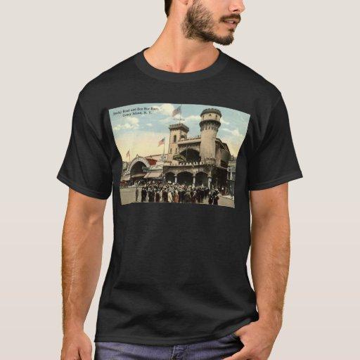 Vintage 1914 de Coney Island NY de la raza de Ben Playera