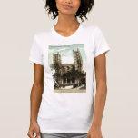 Vintage 1914 de Montreal de la iglesia de Notre Da Camiseta
