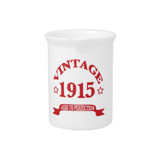 Vintage 1915 envejecido a Paerfection Jarras