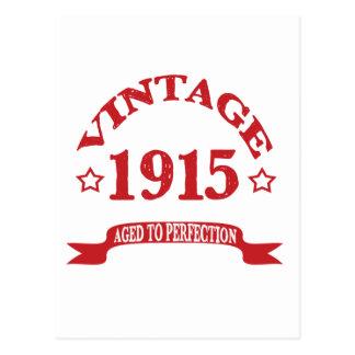 Vintage 1915 envejecido a Paerfection Tarjeta Postal