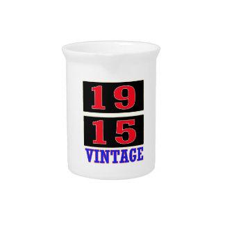 Vintage 1915 jarras de beber