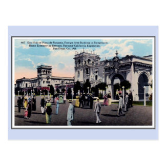 Vintage 1915 Panama California Expo San Diego 17 Postcard