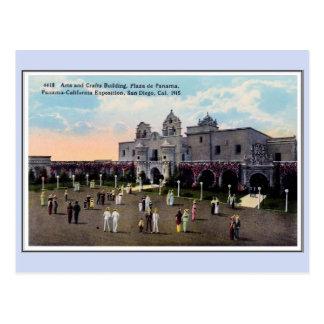 Vintage 1915 Panama California Expo San Diego 18 Postcard