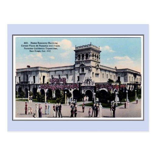 Vintage 1915 Panama California Expo San Diego 21 Postcard