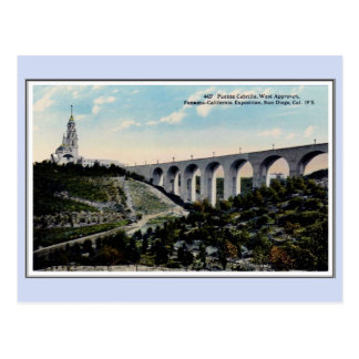 Vintage 1915 Panama California Expo San Diego 27 Postcard